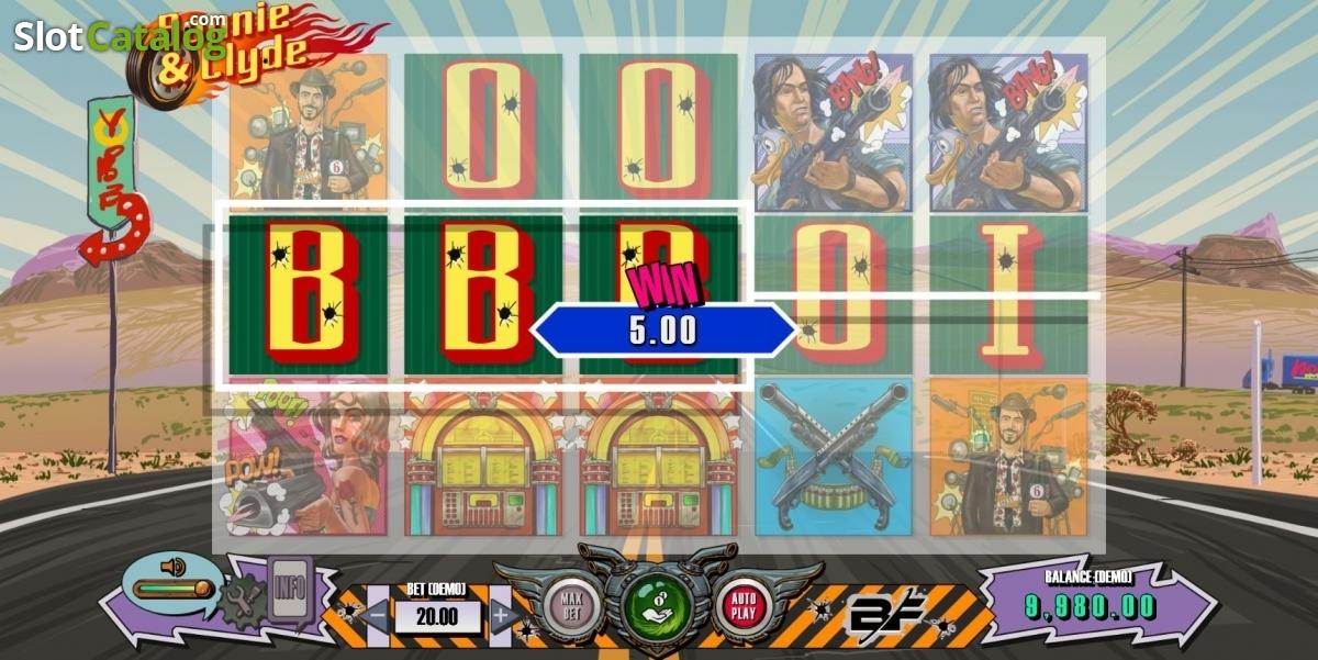 Keno bonnie clyde slot machine online bf games video