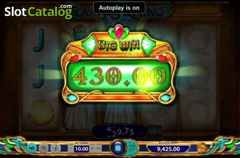 Big Win. Ramses Rising (Video Slot from BF games)