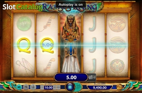 Win Screen 2. Ramses Rising (Video Slot from BF games)