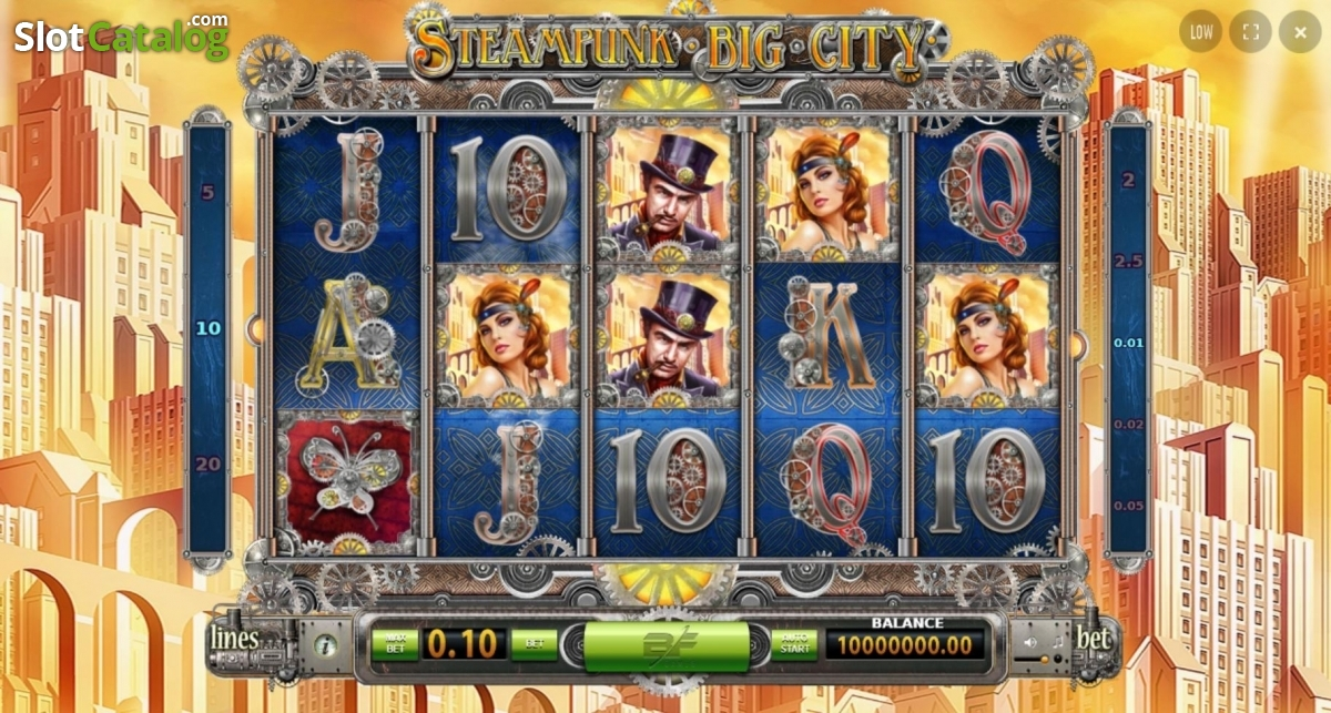 Play The Free Slot Steampunk Luck With No Download