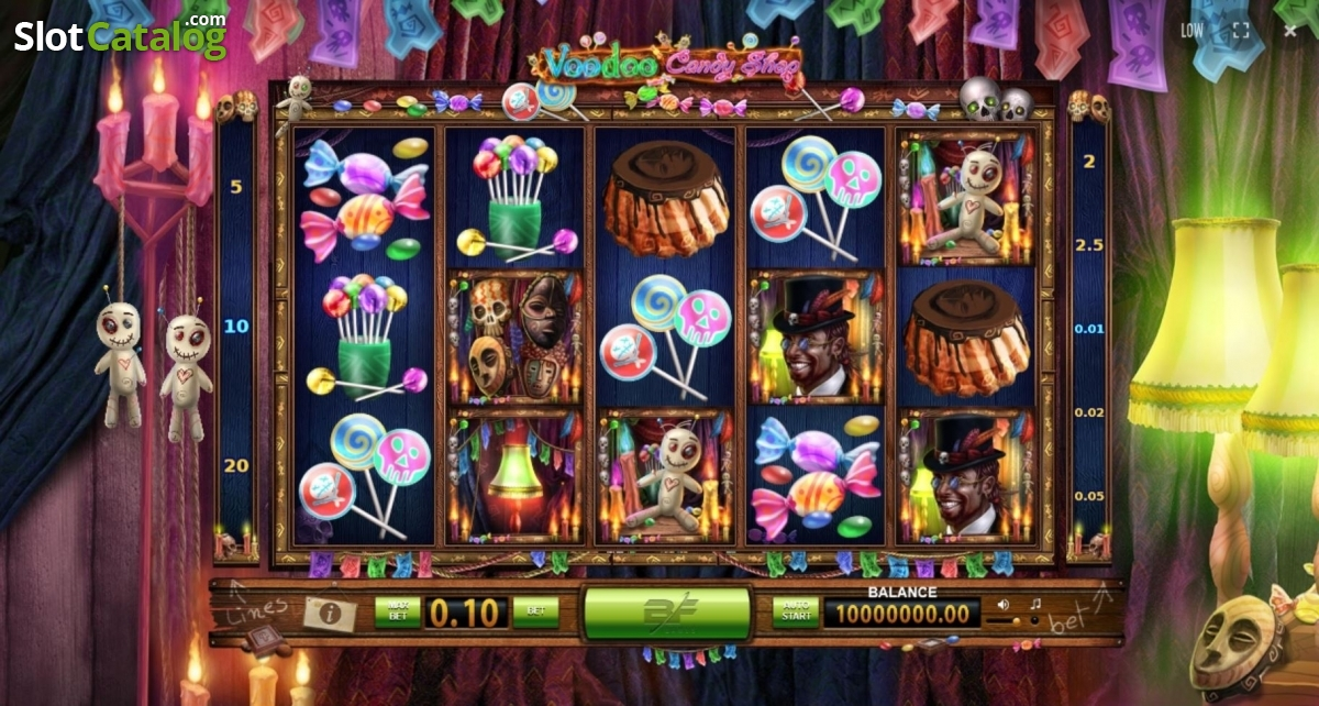 Spiele Voodoo Candy Shop - Video Slots Online