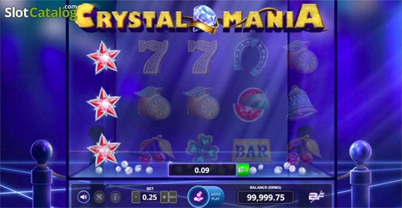 7995ffa800ca Crystal Mania Slot Review, Bonus Codes & where to play from United Kingdom