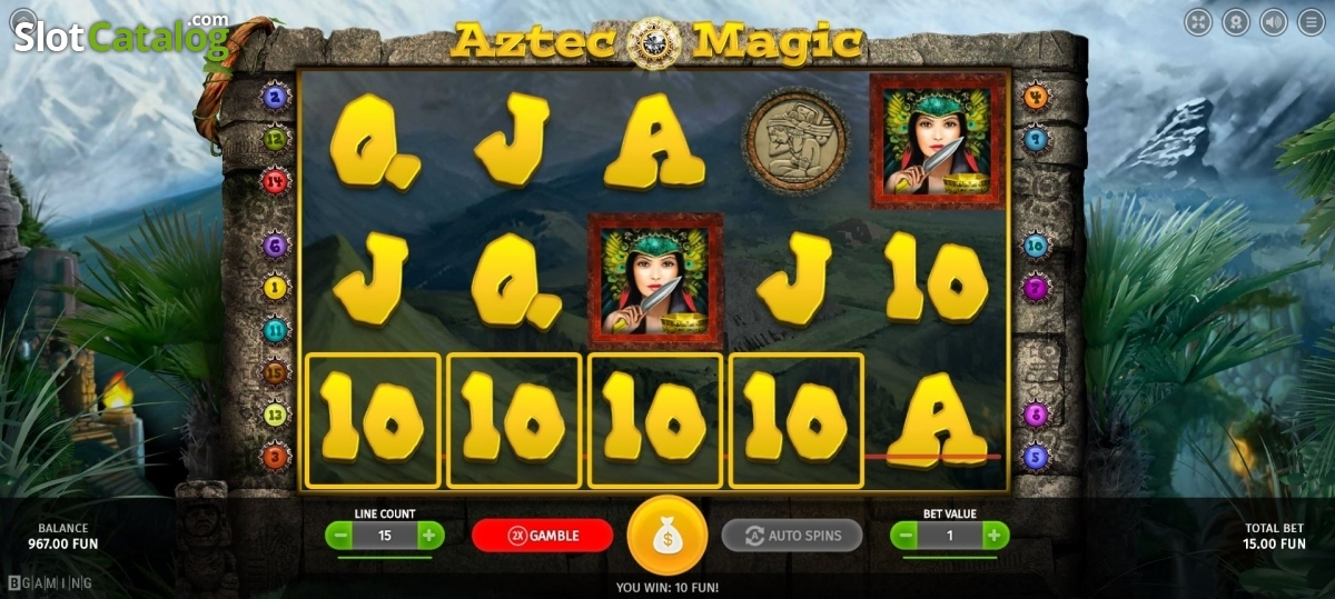 Spiele Aztec Magic - Video Slots Online