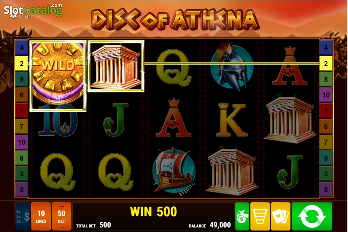 Disc of Athena Slot Review, Bonus Codes & where to play from United Kingdom