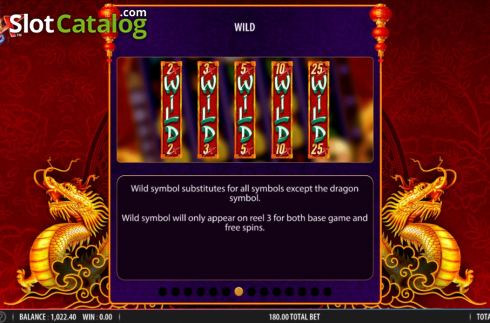 Skärm15. Blazing X (Video Slot från Bally)