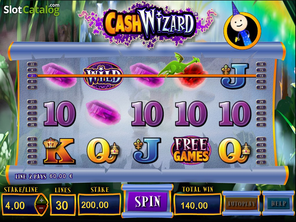 review of cash wizard video slot from bally slotcatalog