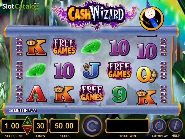 Cash Wizard Slots - Ballys Cash Wizard Slot Machine Review