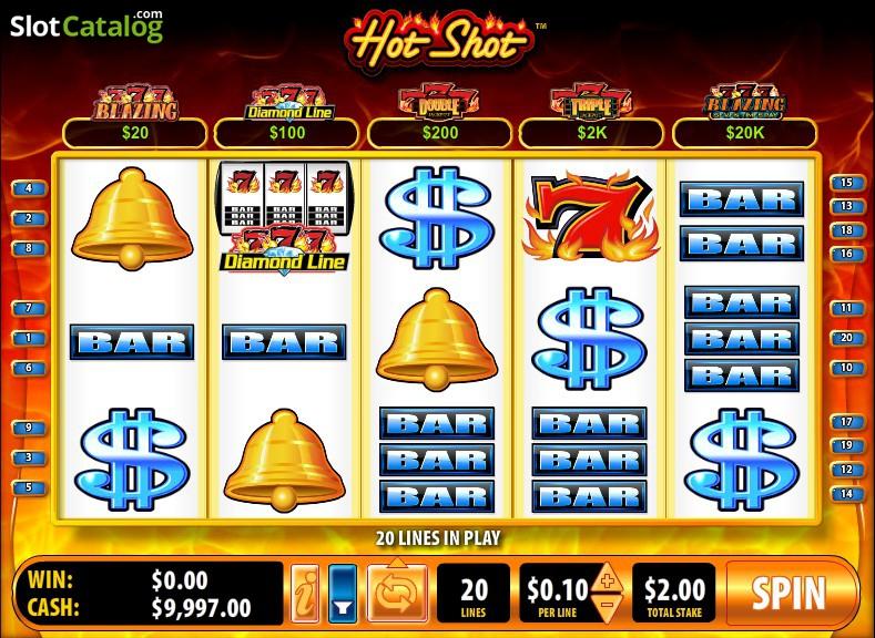 Hot Shot progressive spilleautomater – Blazing 7s