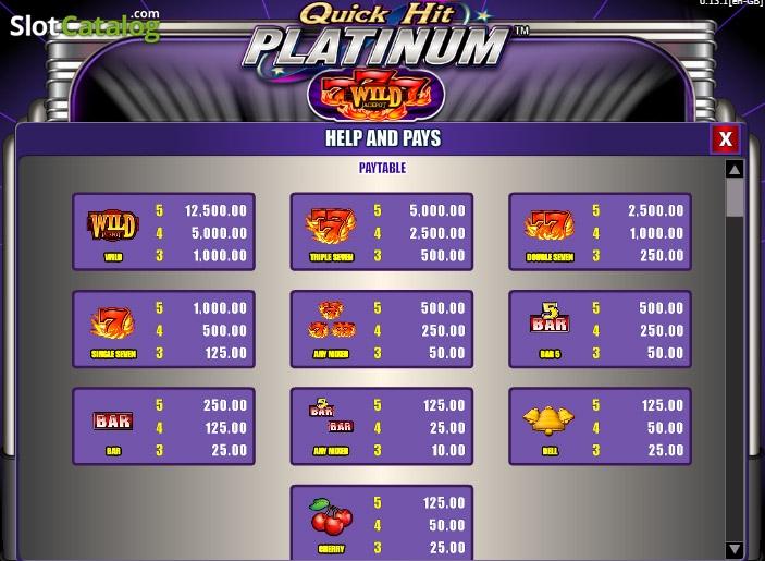 quick hit platinum triple blazing 7s casino