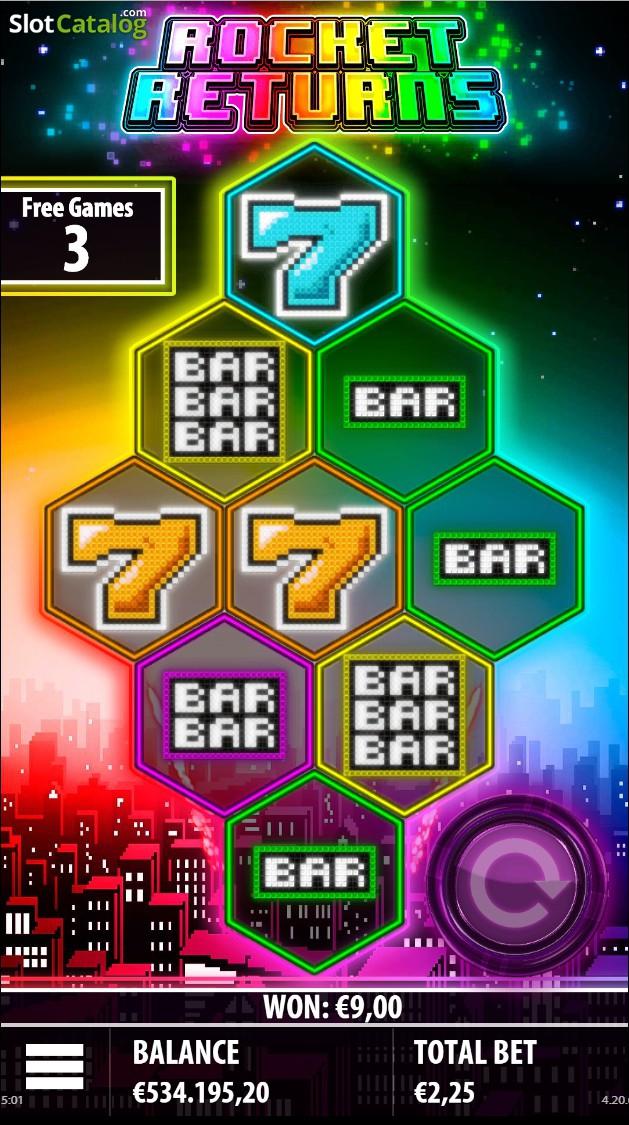 Spiele Rocket Returns - Video Slots Online
