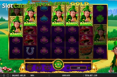 Feature. Rainbow Riches Leprechauns Gold (Video Slot from Barcrest)