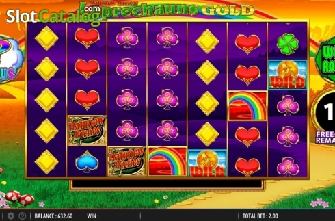 Free Spins. Rainbow Riches Leprechauns Gold (Video Slot from Barcrest)