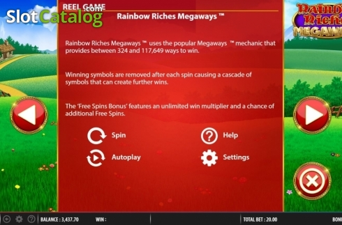 Features 2. Rainbow Riches Megaways (Video Slots from Barcrest)