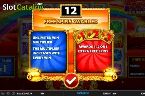 Free Spins 2. Rainbow Riches Megaways (Video Slots from Barcrest)