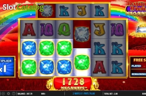Free Spins 3. Rainbow Riches Megaways (Video Slots from Barcrest)