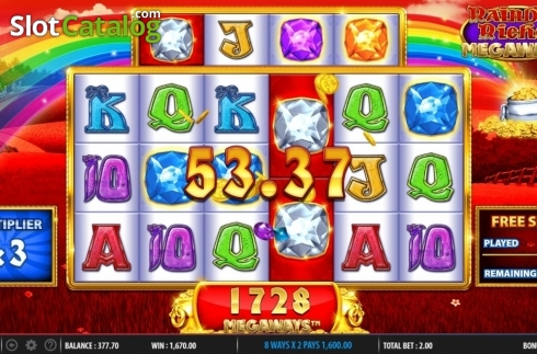 Free Spins 4. Rainbow Riches Megaways (Video Slots from Barcrest)