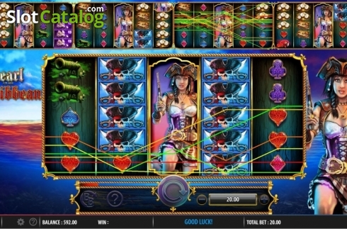 Obrazovka4. Pearl of the Caribbean (Video Slot z Barcrest)