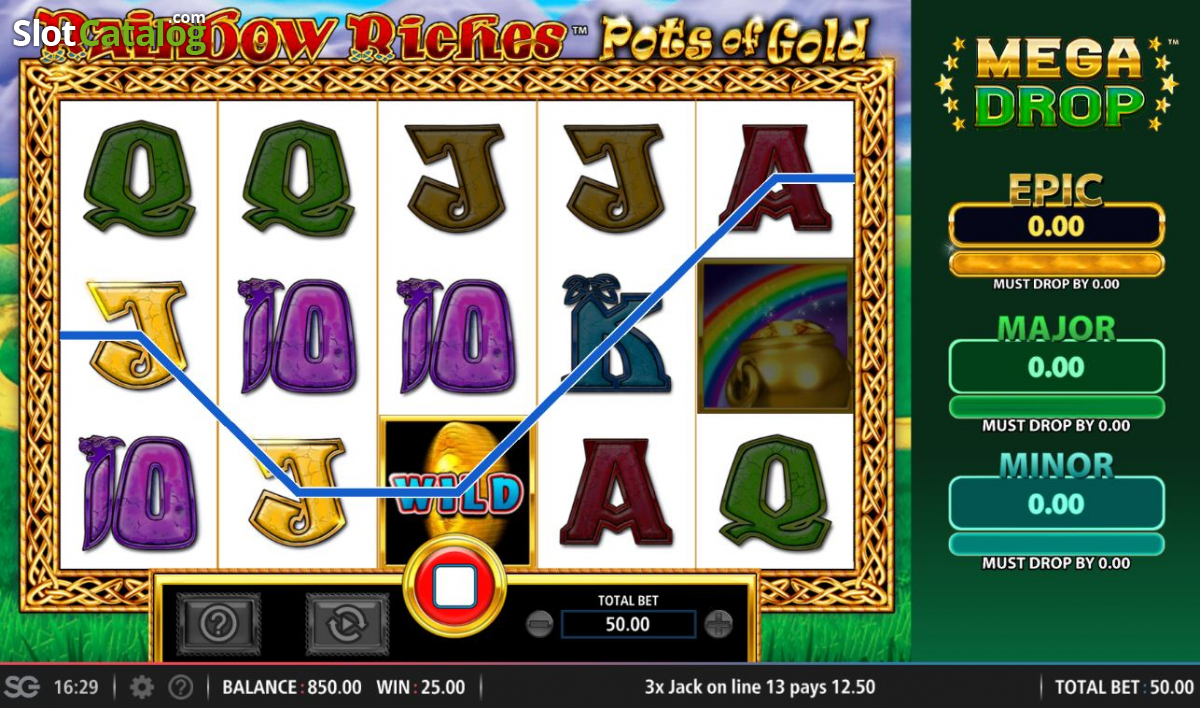 Free Slots Rainbow Riches Pots Of Gold