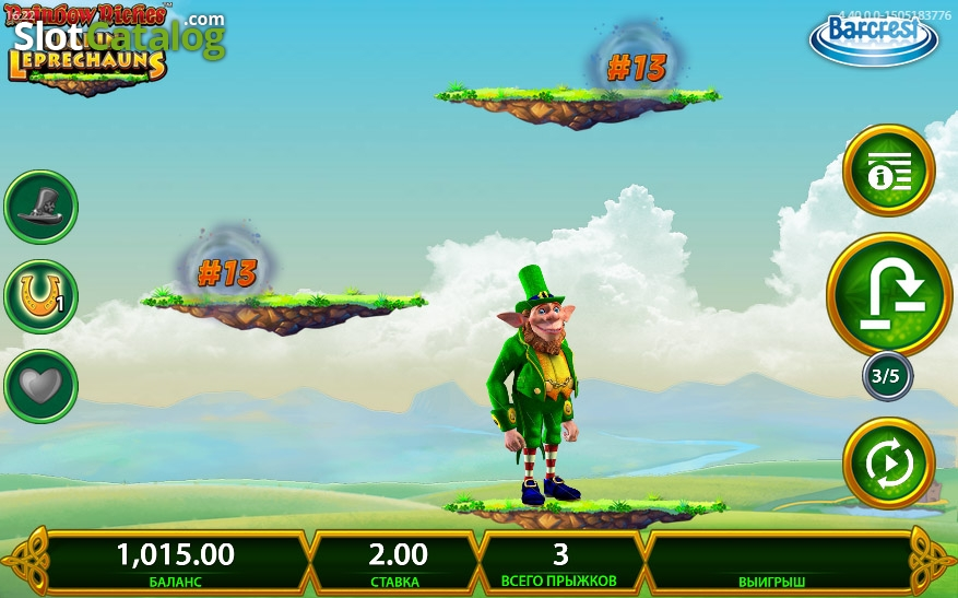 Rainbow Riches Leapin Leprechauns – New Barcrest Game