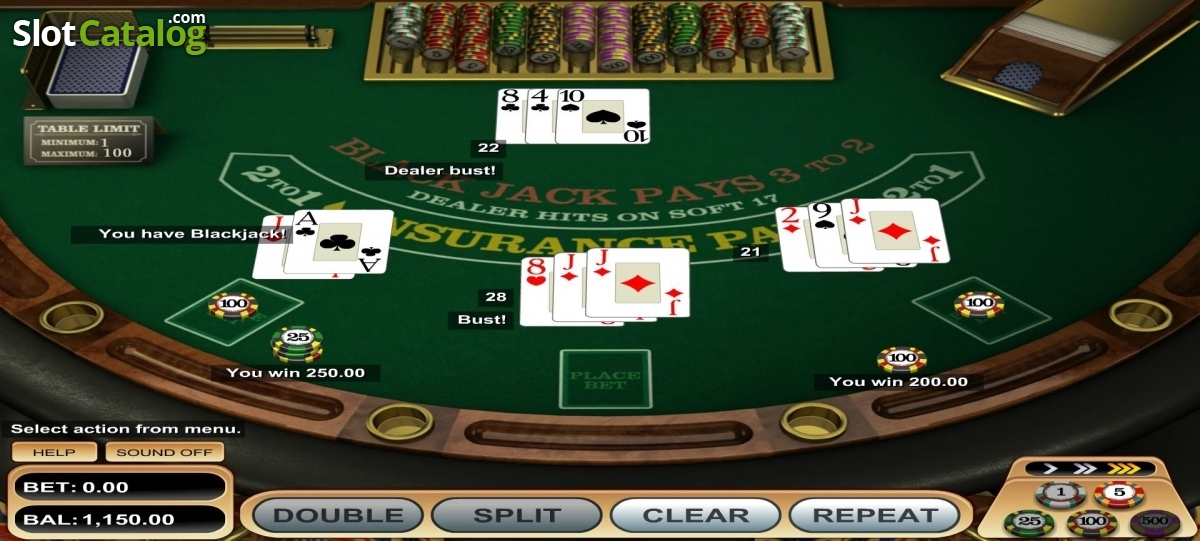 Ready For A Free Game Of American Blackjack - Grab A Seat!