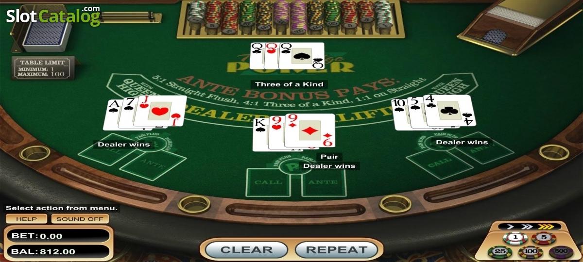 Spiele Triple Edge Poker - Video Slots Online