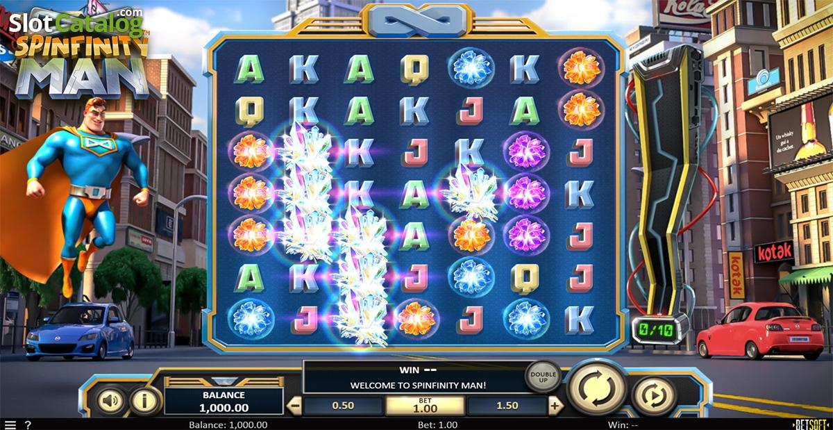 Spiele Spinfinity Man - Video Slots Online