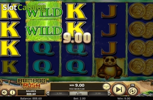 Scherm4. Bamboo Rush (Video Slot van Betsoft)