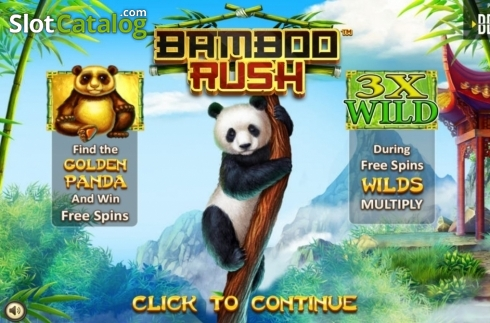 Scherm2. Bamboo Rush (Video Slot van Betsoft)