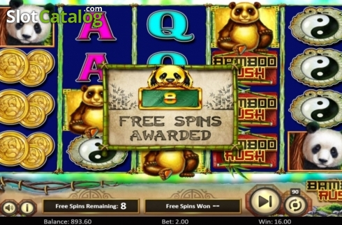 Scherm5. Bamboo Rush (Video Slot van Betsoft)
