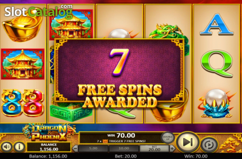 Free Spins 1. Dragon & Phoenix (Video Slot from Betsoft)
