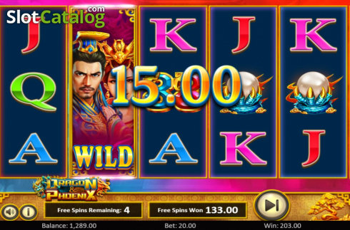 Free Spins 3. Dragon & Phoenix (Video Slot from Betsoft)