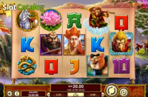 Journey To The West (Betsoft) 2020-05-21
