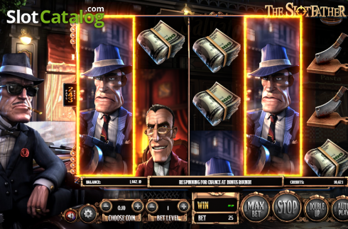 Obrazovka 9. SlotFather II (Video Slot z Betsoft)