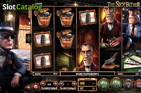 Obrazovka 1. SlotFather II (Video Slot z Betsoft)
