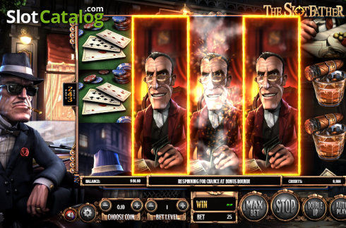 Obrazovka 4. SlotFather II (Video Slot z Betsoft)