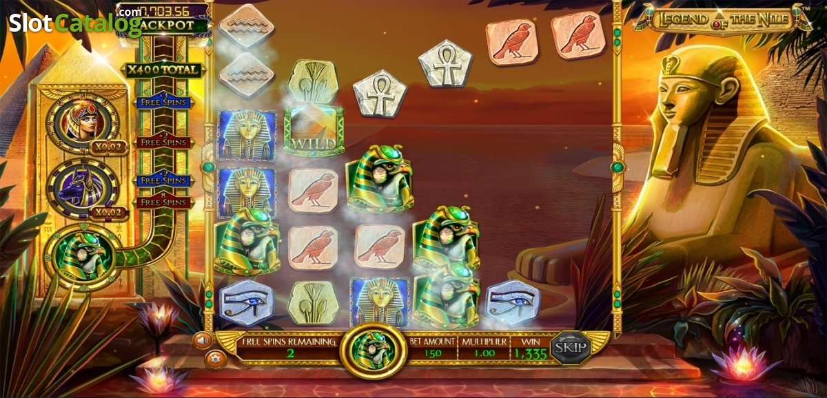 Legend of the Nile Betsoft - Mobil6000
