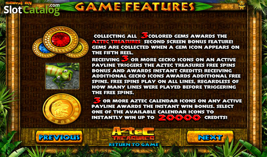 Aztec Treasure Slots - Aztec Treasure Slots from BetSoft