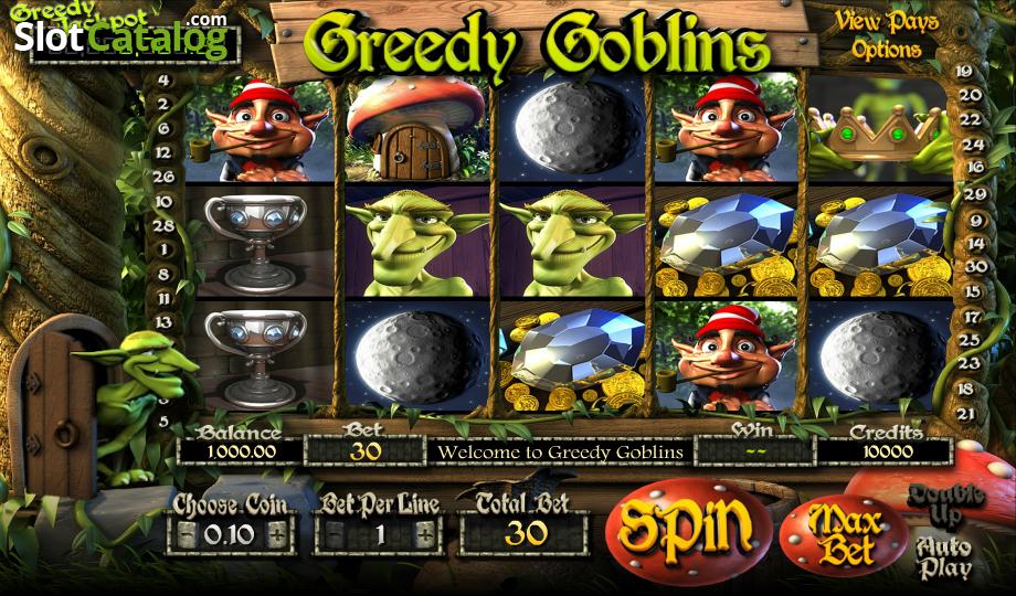 Greedy Goblins Slots - Play Betsofts New Greedy Goblins Slot