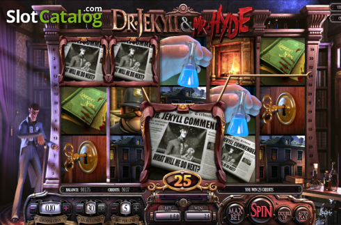 Reels. Dr. Jekyll & Mr. Hyde (Video Slot from Betsoft)
