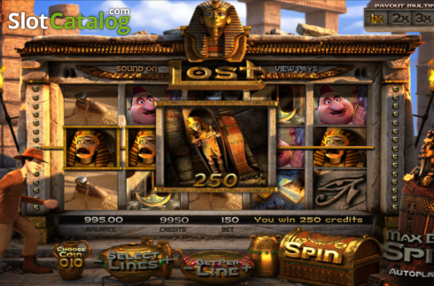 Reels. Lost (Video Slot from Betsoft)