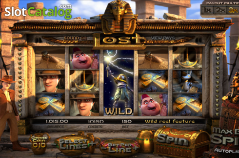 Wild. Lost (Video Slot from Betsoft)