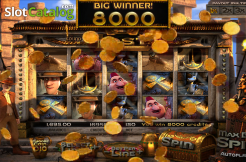 BigWin. Lost (Video Slot from Betsoft)