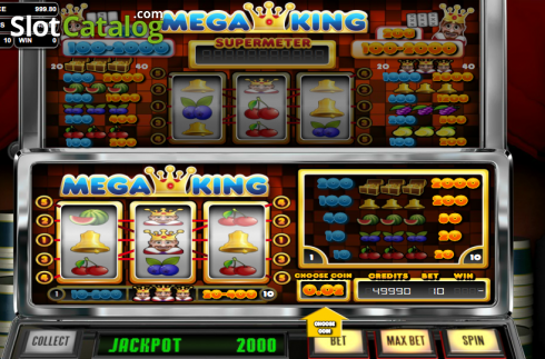 Mega King (Classic Slot from Betsoft)