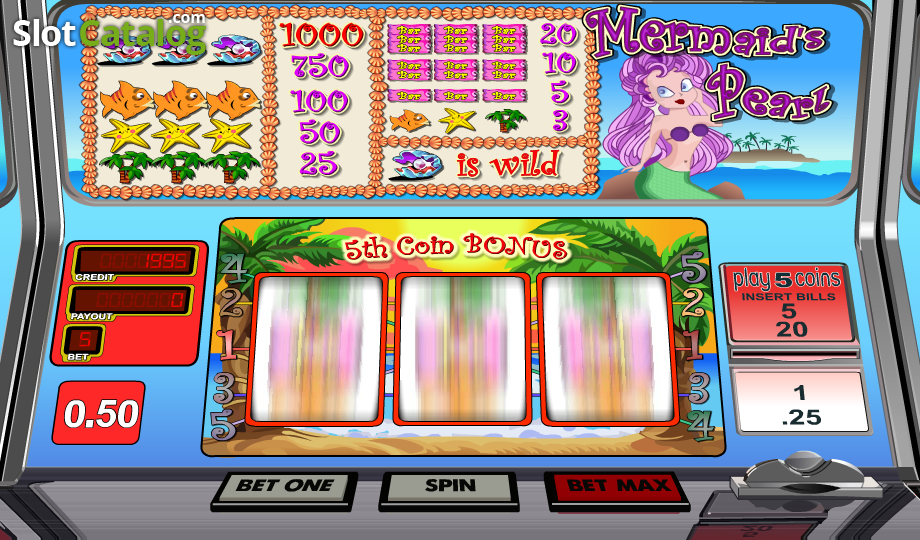 Mermaids Pearl Slots - Play Mermaids Pearl Slots from BetSoft for free