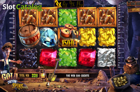 Wild. More Gold Diggin (Video Slot from Betsoft)