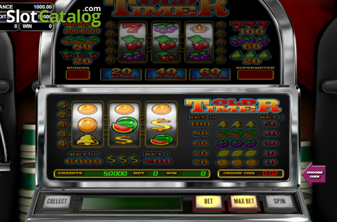 Old Timer (Classic Slot from Betsoft)