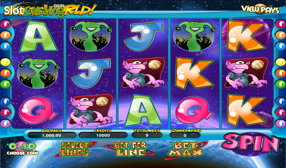 Out of this World - Play Out of this World Slots from BetSoft for free