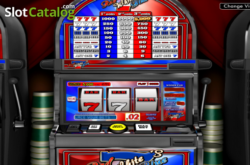 Red White And Blue Sevens Slots