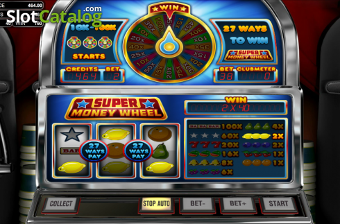 Win. Super Money Wheel (Classic Slot from Betsoft)