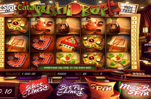 Mulinete. Sushi Bar (Slot video din Betsoft)
